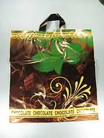 """Пакет с петлевой ручкой средний, """" Шоколад с мятой"""" (40х42)Леони (50 шт)"""