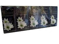 Носовые платки бумажные ароматизированные Bonjour цветочный, 10 шт\пач