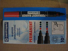Маркер 1.0 -4,6mm скошенный  тм Centropen код8576 (10 шт)