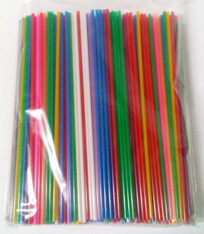 Трубочки для напитков (соломка) d3-21см  Махито микс( Мохито м 50х500) (500 шт)