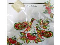 Салфетка праздничная с рисунком (ЗЗхЗЗ, 20шт) Luxy  Роспись (502) (1 пач)