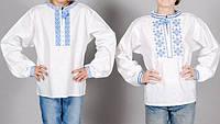Детские украинские вышиванки для мальчиков,размеры 30-48 опт и розница,S996