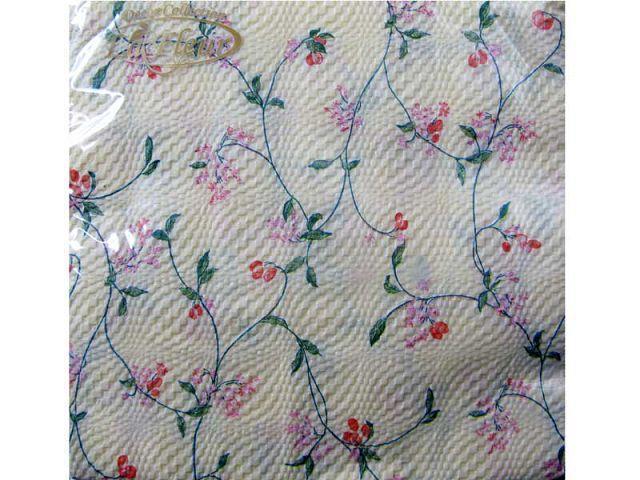Салфетки для праздника (ЗЗхЗЗ, 20шт)  La Fleur  Цветочная паутина (999) (1 пач)