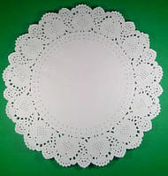 Салфетка кондитерская бумажная, диаметр 36 (100шт) (1 пач)