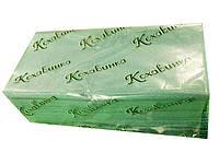 Полотенца листовые Z-укладка зеленое(170листов) Каховинка, 1 шт/пач