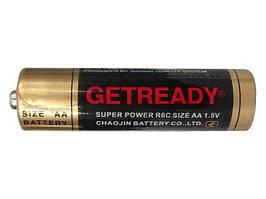 Батарейка ГетРеди (АА R6) солевые (Б-4) (4 шт)