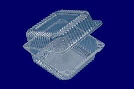 Одноразовый контейнер для продуктов SL25-1 (V1350мл\139*139*47+32) (50 шт/пач)