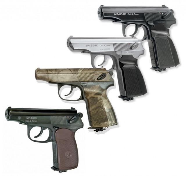 Револьверы под газовый баллон