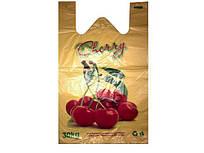 Пакети майка з малюнком (30+2х8)х50) Вишня Кривий Ріг (250 шт)