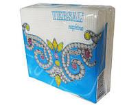Столові паперові серветки однотонні, Версаль, 35 аркушів, 16 пач\уп