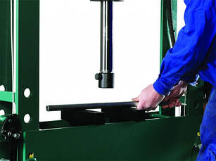 Пресс гидравлический 25 тонн с ножным пневматическим приводом, Compac, FP25, фото 2