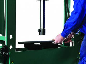 Пресс гидравлический  16 тонн с ножным пневматическим приводом, Compac, FP16, фото 2