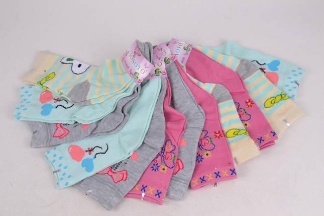 Детские носки для девочки 26-29 (D3102/26-29) | 12 пар, фото 2