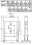 Пресс гидравлический 40т, ножной привод, COMPAC, HP 40, фото 5