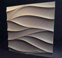 3Д панель гипсовая настенная Нежность 50х50