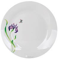 Тарелка обеденная Limited Edition Iris круглая 23 см (YF2008-1)
