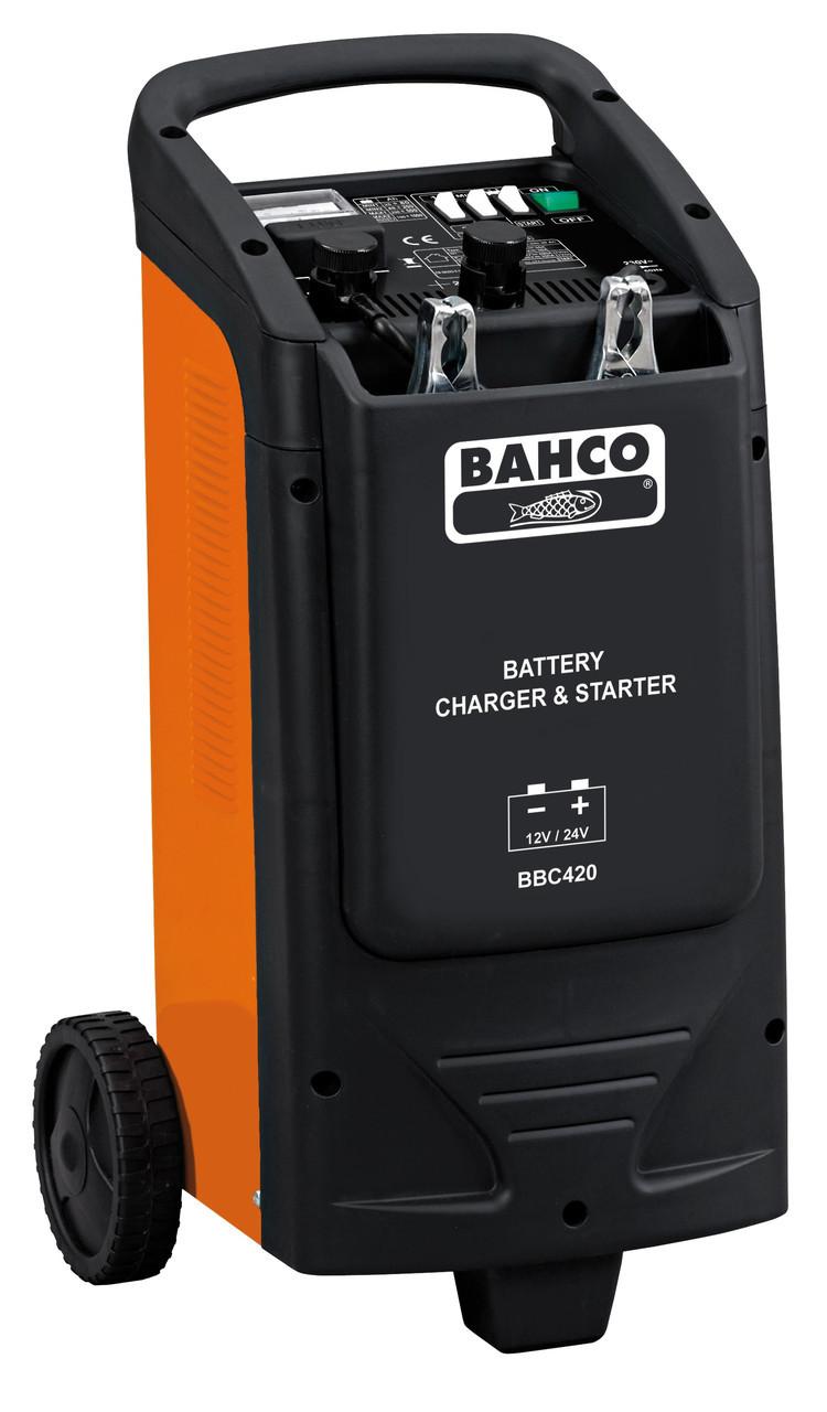 Пуско-зарядное устройство аккумуляторов, Bahco, BBC420