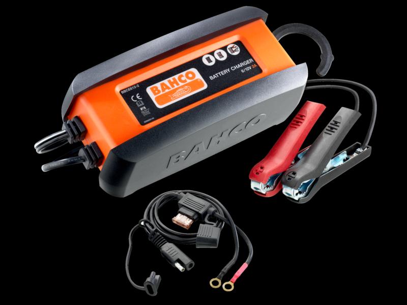 Зарядное устройство 2A / 6-12V, Bahco, BBCE612-2