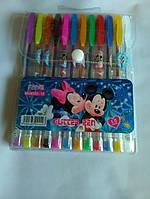 Ручки гелевые цветные с блистерами 12 штук