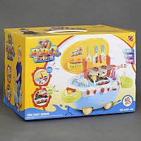 """Игровой набор 668-46 """"Барбекю"""" (12) 40 деталей, на колёсах, свет, звук, в коробке"""