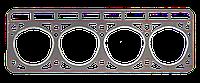 Прокладка ГБЦ Газель,Волга дв.402 с гермет. универс. (пр-во ВАТИ,г.Волжский, Россия)