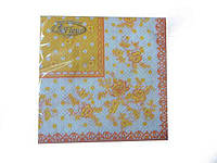 Салфетки декоративные (ЗЗхЗЗ, 20шт)  La Fleur Платок (606) (1 пач)
