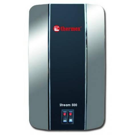 Электрический проточный водонагреватель THERMEX Stream 500(хром), фото 2