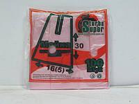 Пакеты майка без рисунка №16*30 Супер Торба(100шт) (1 пач)
