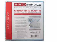 Салфетка для стекла из микрофибры,  PRO,  5шт\пач