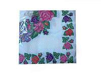Салфетка для декупажа (ЗЗхЗЗ, 20шт)  La Fleur Бабушкина скатерть (708) (1 пач)