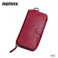 Чехол портмоне Remax Ranger iPhone 6 6s красный