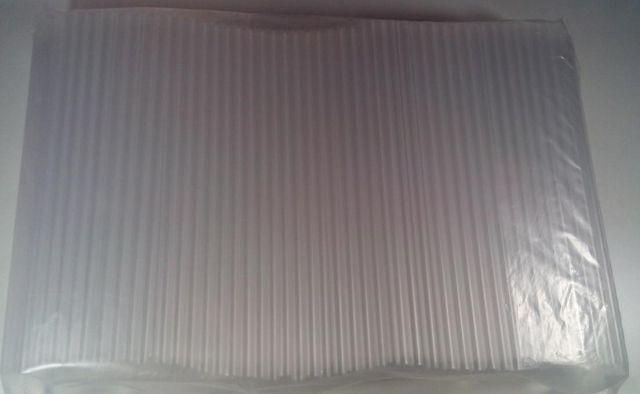 """Трубочки соломинки  для коктейлів d8-25см """"Фреш прозрачная (Фпр25 12х500) (500 шт)"""