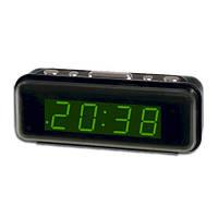 Часы электронные от сети  VST-738 зеленые