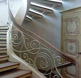 Ковані сходи, огородження сходів, фото 2