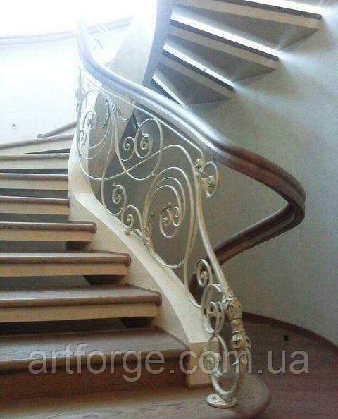Ковані сходи, огородження сходів