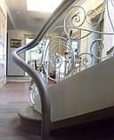Ковані сходи, огородження сходів, фото 5