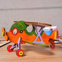 "3D модель ""Биплан""  UGEARS"