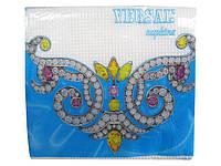 Салфетка бумажная барная (столовая) однотонная, Версаль, 65 листов, 10 пач\уп
