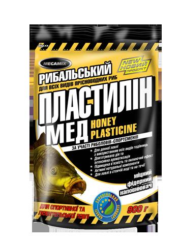 Пластилин Megamix Мед, 500г