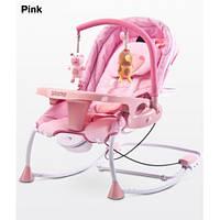 Детское кресло-качалка Caretero Rancho pink