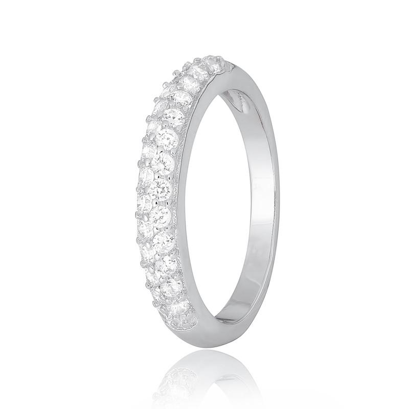 """Серебряное кольцо с камнями """"325"""""""