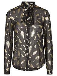Блуза рубашка черная Lova 1 от Desires в размере S