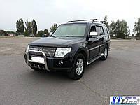 Защита переднего бампера (кенгурятник)  Mitsubishi Pajero Wagon 4 (06+), фото 1