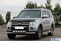 Кенгурятник Mitsubishi Pajero Wagon 4 (06+) - ус двойной, фото 1