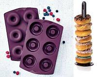 Силиконовая форма Кольца Tupperware . Румяные пончики- легко!