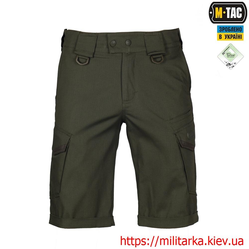 M-Tac шорты Aggressor Gen.II Flex Army Olive