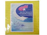 Cалфетка для  уборки кухни и других помещений  губчатая, 16*16,  3шт\пач