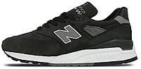 """Мужские кроссовки New Balance M 998 DPHO ASH """"Black"""" (Нью Беланс) черные"""
