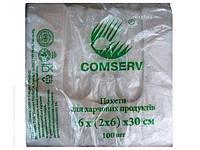 Полиэтиленовые пакеты майка №16*30 Сomserv(100шт)