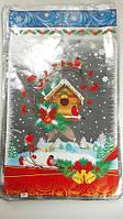 Новогодние пакеты для конфет и подарков (30*50) №18, 100 шт\пач